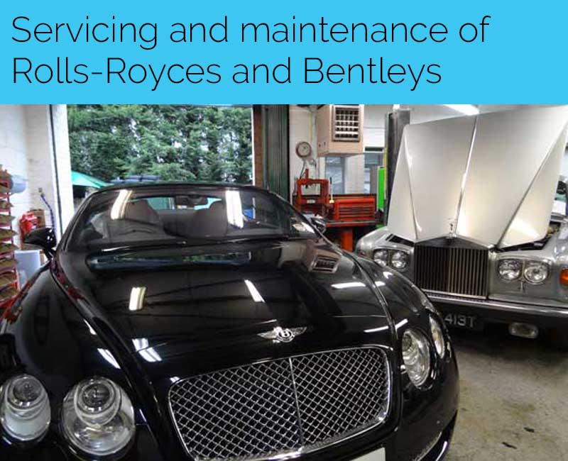 Beaconsfield Workshop - Jaguar, Lotus, Rolls-Royce & Bentley Restoration Specialists