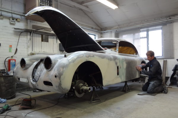 Beaconsfield Workshop - Jaguar Service & Restoration Specialists