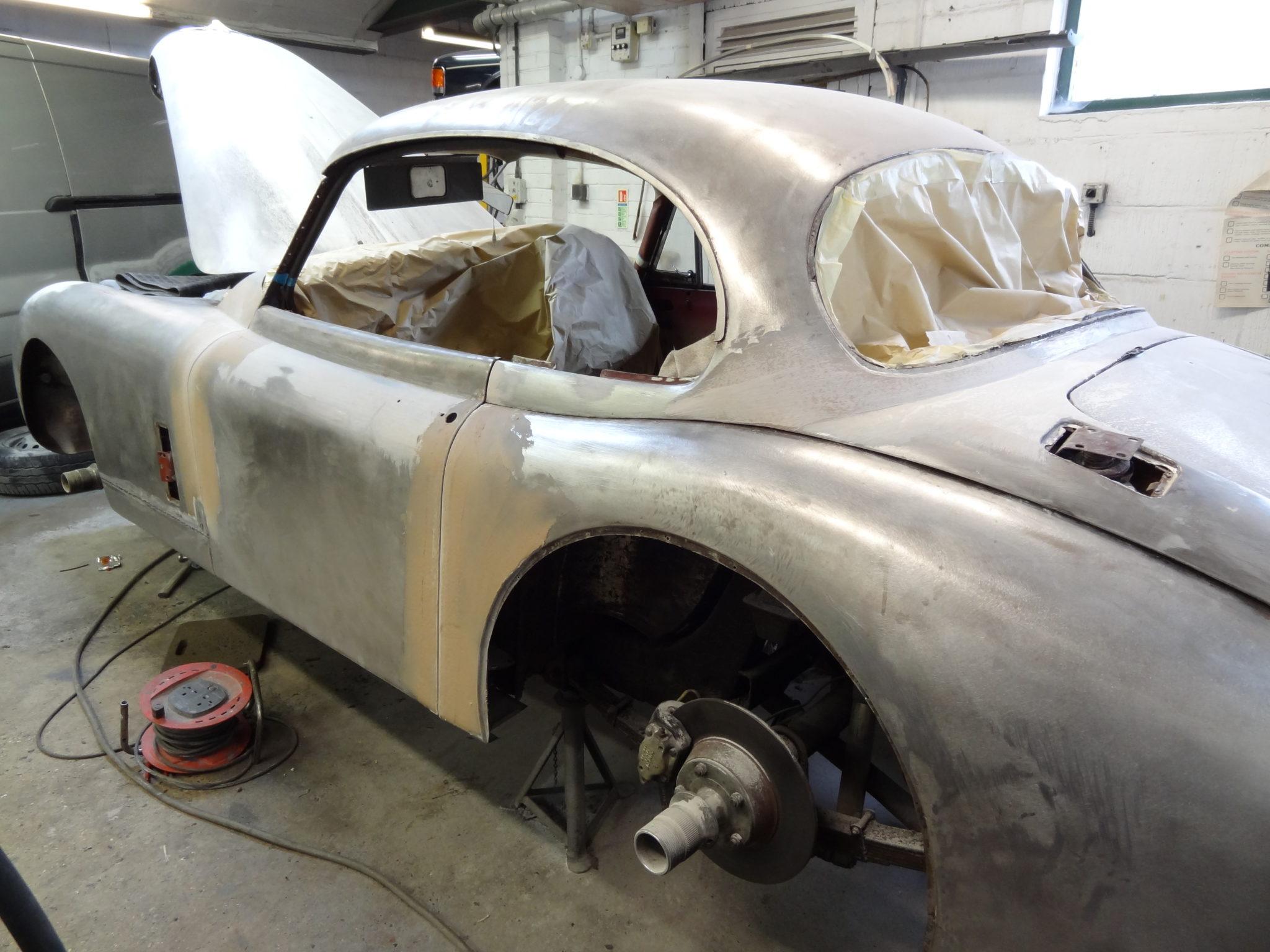 Beaconsfield Workshop - Jaguar Service & Restoration Specialists