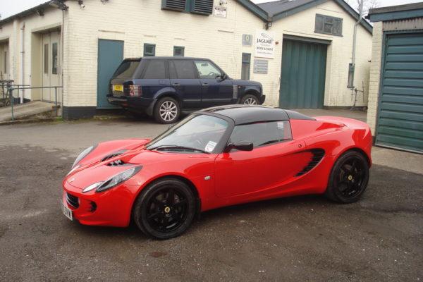 Beaconsfield Workshop - Lotus Service & Body Repair Specialists